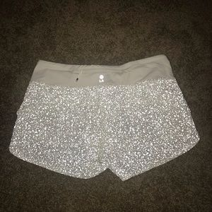 Lululemon LA Reflective Speed Shorts